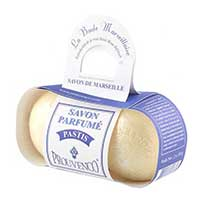 Box of 2 petanque balls scented soap Pastis