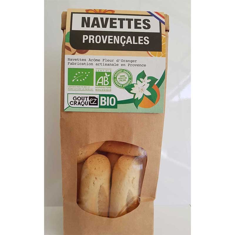 Navettes Provençales Fleur...