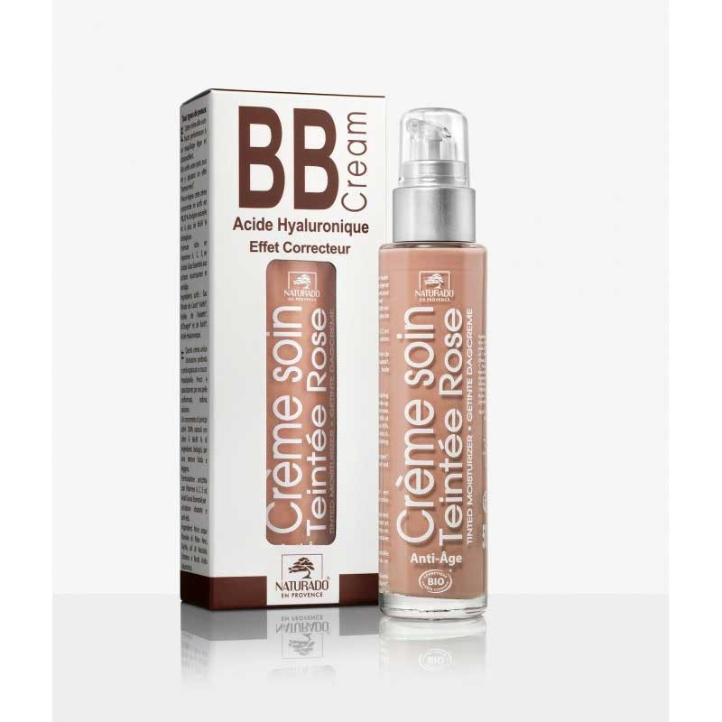Organic BB Cream Pink with...