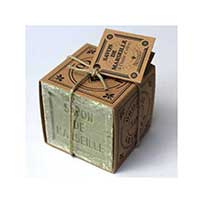 Savon Cube de Marseille Pur Végétal à l'Huile d'Olive 300 g