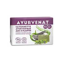 Organic Ayurdeva Soap with 18 plants