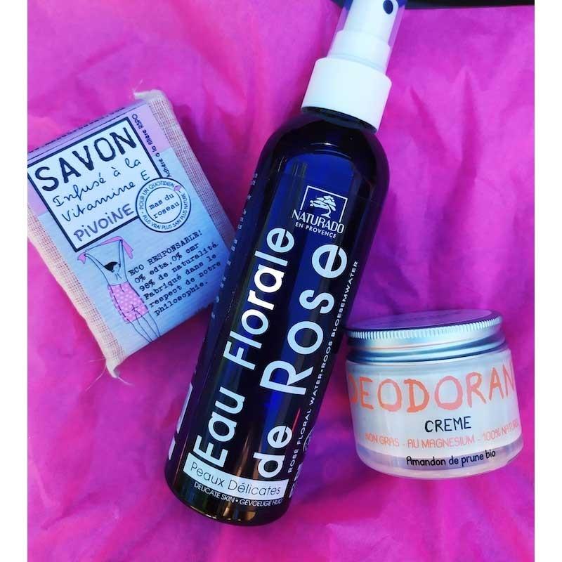 Offrez ( vous ) ce coffret rempli de cosmétiques fabriqués en Provence idéal pour le bien-être