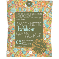 Découvrez cette savonnette originale au quinoa et au miel !