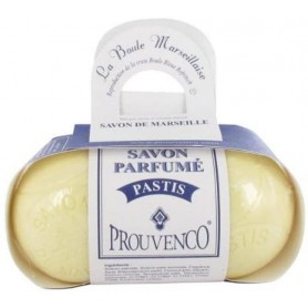 Discover these Marseille soaps shaped like a petanque ball with the original scent of pastis !