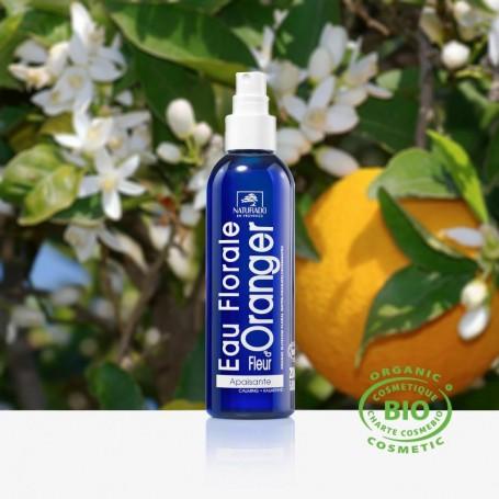 Découvrez cette eau florale à la fleur d'oranger certifiée Bio