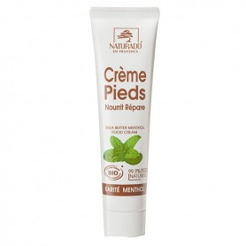 Are you looking for an organic cream for your feet allowing a real boost of freshness ?