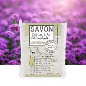Savon Verveine Infusé à la Chlorophyle 100 gr