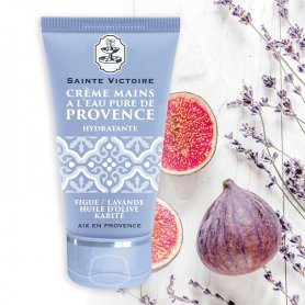 Organic Hand Cream with Fig and Lavender